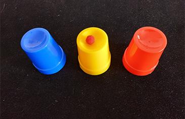 אמן חושים - אסף סלומון - כוסות וכדורים